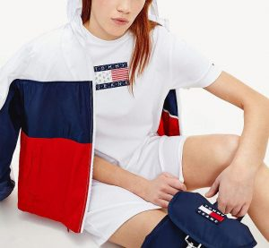 DW08463 0 20200909135254 300x277 - TH TOMMY LOGO TEE DRESS I20