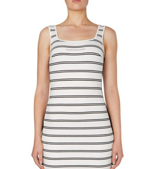 J214171 1 20200819133118 600x654 - CK STRIPE MILANO DRESS I20